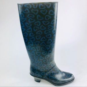 Marc by Marc Jacobs Heart Rain Boots